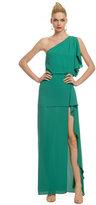 BCBGMAXAZRIA Salsa Verde Gown