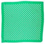 BCBGMAXAZRIA Silk Polka-Dot Scarf