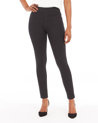 Spanx The Perfect Black Back-Seam Skinny Pants