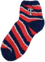 For Bare Feet Texas Rangers Sleep Soft Candy Striped Socks