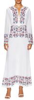 Antik Batik Cotton Embroidered Maxi Dress