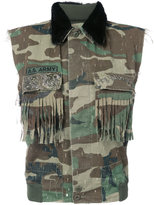 As65 camouflage gilet