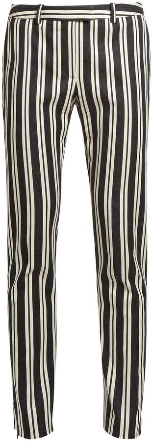 Altuzarra Henri stripe-print wool-blend trousers