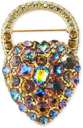 Lulu Frost Nina Rainbow Crystal Brooch