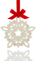 Lenox Pierced Snowflake Charm Ornament, Created for Macy's