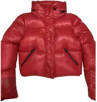 Mackage Red Linen Jacket for Women