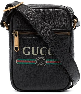 Gucci Logo-Print Shoulder Bag