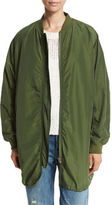 Vince Oversized Parka Bomber Jacket
