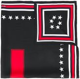 Givenchy 17 printed scarf