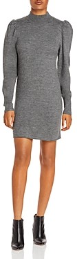 WAYF Lola Puff Sleeve Sweater Dress