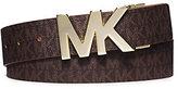 Michael Kors Reversible Saffiano Leather Belt