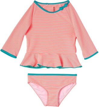 KensieGirl Long Sleeve Two-Piece Swimsuit
