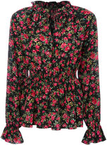 Dolce & Gabbana rose print blouse - women - Silk - 42