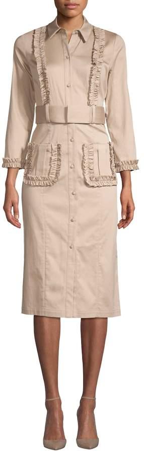 Alexis Women's Fonzell Embellished Shirtdress