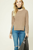 Forever 21 Contemporary Side-Vent Sweater
