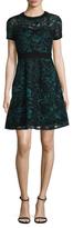 Rachel Roy Embroidery Burnout Dress
