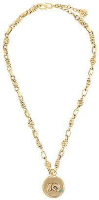 Goossens Talisman Aries medal necklace