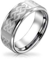 Bling Jewelry Celtic Knot Tungsten Ring 8mm