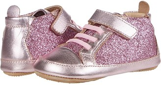 Old Soles Glam Gal (Infant/Toddler) (Glam Pink/Pink Frost) Girl's Shoes