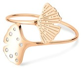 ginette_ny Gingko double ring