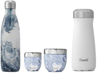 Swell On The Rocks Bottle and Eats Set (Worth 150)
