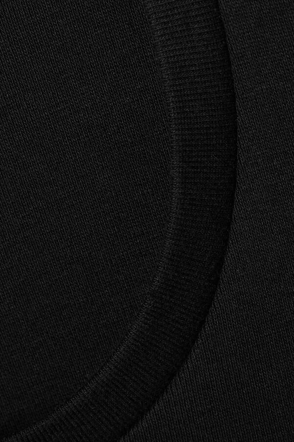 Thumbnail for your product : FRANCES DE LOURDES Mia Organic Cotton-jersey Maxi Dress - Black