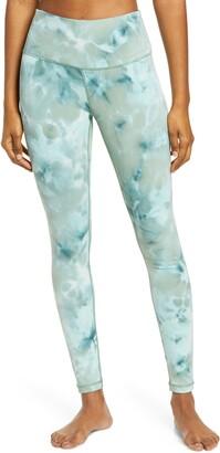 Zella Spray Dye High Waist Leggings