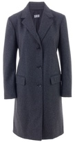 PHILOSOPHY DI ALBERTA FERRETTI - Gathered back wool coat