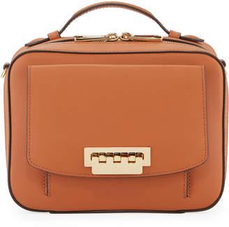 Zac Posen Earthette Top Handle Box Bag, Rust