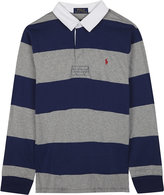 Ralph Lauren Striped rugby polo shirt 6-14 years