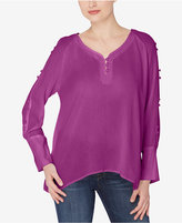 Catherine Malandrino Split-Sleeve Top