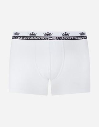Dolce & Gabbana Two-Way-Stretch Cotton Jersey Boxers