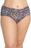 Hanky Panky Plus Size Women's Mysterious Feline Retro Thong