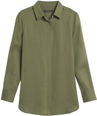 Banana Republic Parker Tunic-Fit Shirt