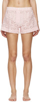 Raphaëlla Riboud Pink Lace Vasco Pyjama Shorts