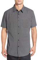 Imperial Motion 'Branch' Trim Fit Print Short Sleeve Woven Shirt