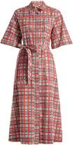 Burberry Carmen checked cotton shirt dress