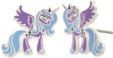 My Little Pony Princess Luna Silvertone Stud Earrings