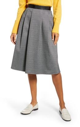 1901 Herringbone Knit Skirt