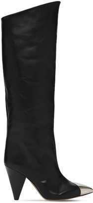 Isabel Marant 90mm Lelize Leather Tall Boots
