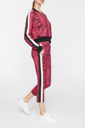 Wildfox Couture Baby Boa Crop Track Pants