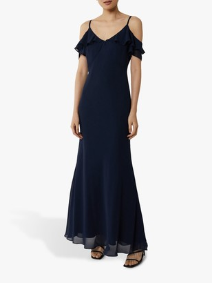 Warehouse Cold Shoulder Bridesmaid Dress