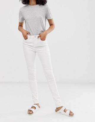 WÅVEN Asa mid rise skinny jeans-White