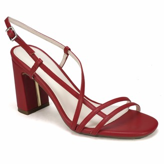Rialto Tally Dress Sandal red Size 7.5