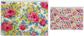 Cath Kidston Sketched Rose Set of 2 Zip Closure Document Wallets