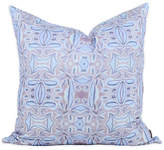 Bunglo By Shay Spaniola French Blossom 20x20 Pillow - Purple