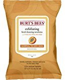 Burt's Bees Facial Cleansing Towelettes, Peach and Willow Bark, 25 Count (Pack of 4)