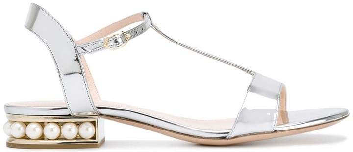 Nicholas Kirkwood 18mm Casati Pearl T-bar sandals