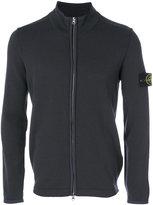 Stone Island zipped sweatshirt - men - Polyester/Wool - M