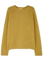 Marni Mustard Wool Blend Jumper